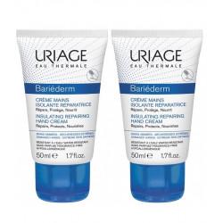 Uriage Bariéderm Crème Mains Isolante Réparatrice 2 x 50 ml