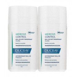 Ducray Hidrosis Control Roll-On Anti-Transpirant Aisselles 2 x 40 ml