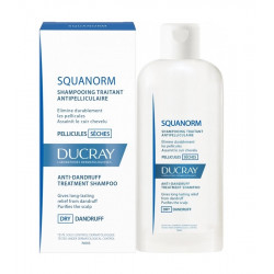 Ducray Squanorm Shampooing Traitant Antipelliculaire Pellicules Sèches 200 ml