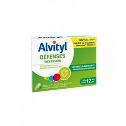 Alvityl Défenses 30 Comprimés