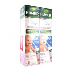 Humer Hygiène du Nez Bébé Enfant 2 x 150 ml