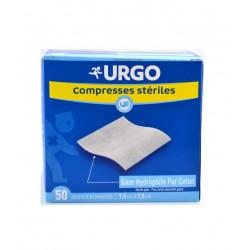 Urgo Compresses Stériles 7.5 cm x 7.5 cm Boîte de 50