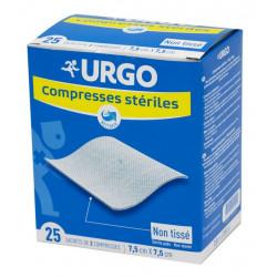 Urgo Compresses Stériles 10 cm x 10 cm Boîte de 25