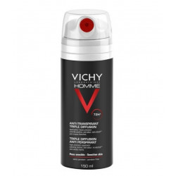 Vichy Homme Déodorant Anti-Transpirant 72H Triple Diffusion 150 ml