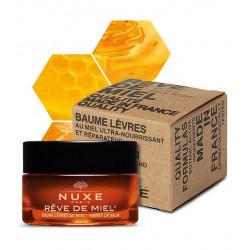 Nuxe Rêve de Miel Baume Lèvres au Miel Ultra-Nourrissant 15 g Made in France