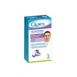 Quies Anti-Ronflement Dilatateur Nasal Grand