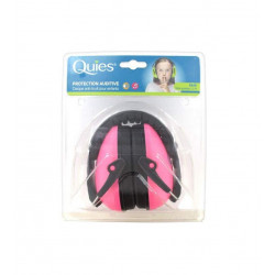 Quies Protection Auditive Casque Anti-Bruit Pour Enfants Rose