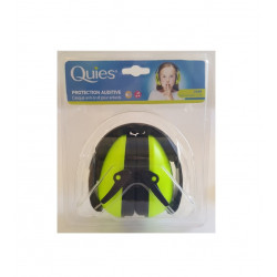 Quies Protection Auditive Casque Anti-bruit Pour Enfants Vert