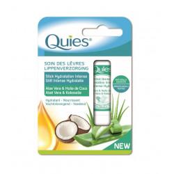 Quies Soin des Lèvres Stick Hydratation Intense Aloe Vera & Huile de Coco 4,5 g