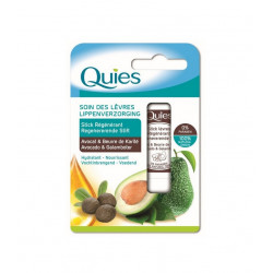 Quies Soin des Lèvres Stick Régénérant Avocat & Beurre de Karité 4,5 g