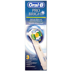 ORAL-B : PRO BRIGHT BROSSETTES LOT DE 3