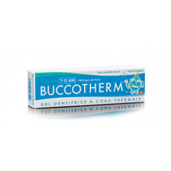buccotherm gel dentifrice junior 7-12 ans menthe 50 ml
