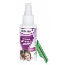 paranix poux et lentes spray 100ml + peigne