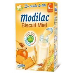 modilac céréales biscuit miel 300 g