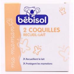 bébisol 2 coquilles recueil lait