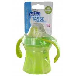 bébisol tasse d'apprentissage 220 ml