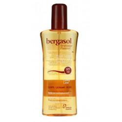 bergasol huile sèche spf 10 corps 125 ml
