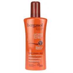 bergasol lait solaire spf 20 visage & corps 125 ml