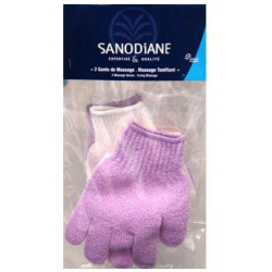 sanodiane gant de massage nylon