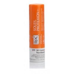 roc soleil protexion+ stick solaire hydratation veloutée spf 30