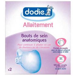 DODIE BOUTS DE SEIN ANATOMIQUES X2
