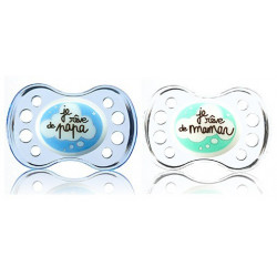 Dodie Sucette Physiologique Silicone +6 mois Nuit n°40