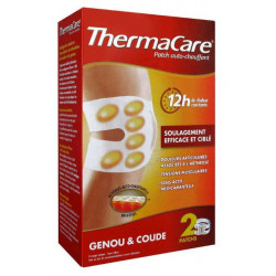 thermacare patch auto-chauffant 12h genou et coude x 2