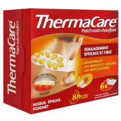 thermacare patch auto-chauffant 8h nuque épaule poignet x6