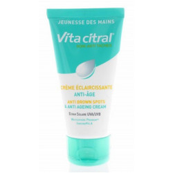 vita citral soin anti taches crème éclaircissante anti-âge 75 ml