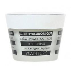 Planter's Acide Hyaluronique Crème Visage Anti-Âge Effet Lifting 50 ml