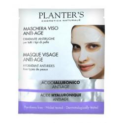 Planter's Acide Hyaluronique Masque Visage Anti-Âge Hydratant Anti-Rides