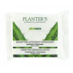 Planter's Aloe Vera Lingettes Démaquillantes x 20