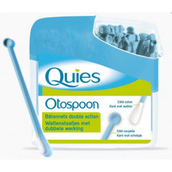 quies otospoon bâtonnets double action