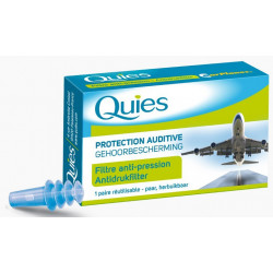 Quies Protection Auditive Earplanes Adulte 1 Paire