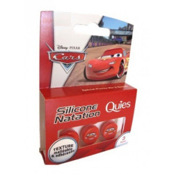 quies protection auditive silicone natation enfant cars 3 paires